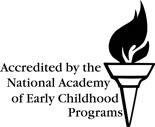 NAEYC accreditation logo
