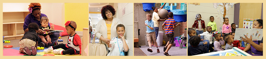 VISIONS Infant room // Parent involvement // school age services // toddler classroom