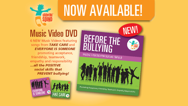 Growing Sound Before the Bullying DVD
