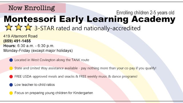 Montessori Early Learning Academy NKY Child Care