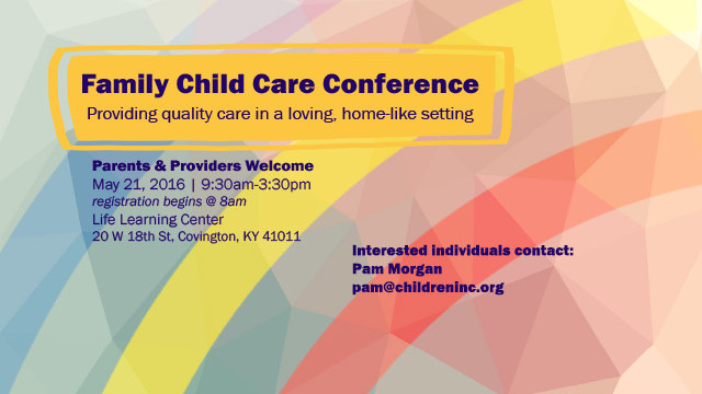 Family Child Care Conference